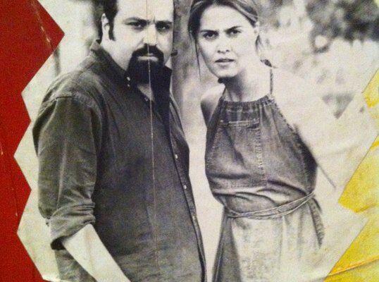 Massimiliano Bruno e Paola Cortellesi